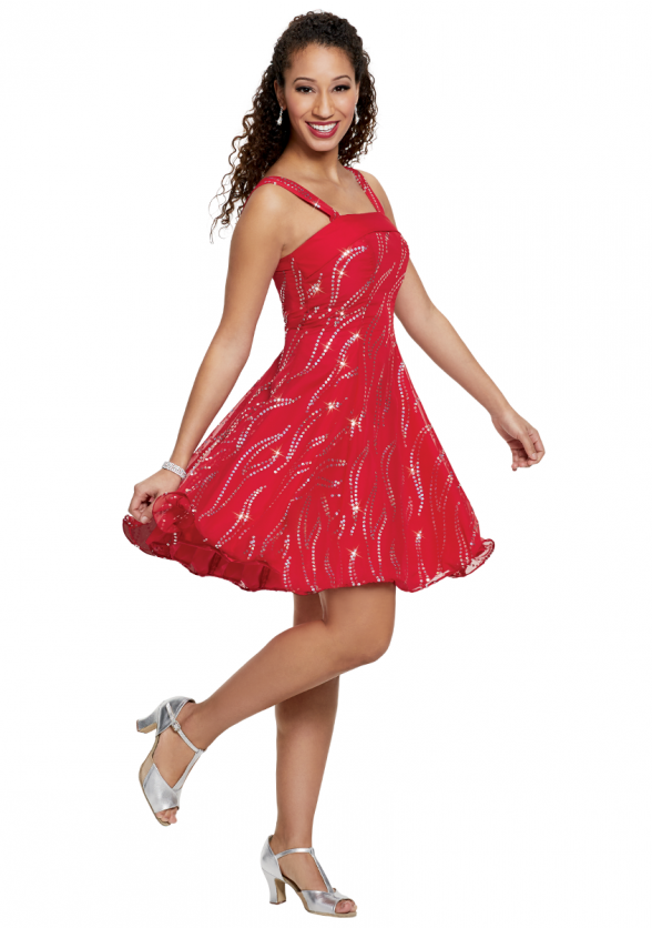 Flame Tarantella Dress