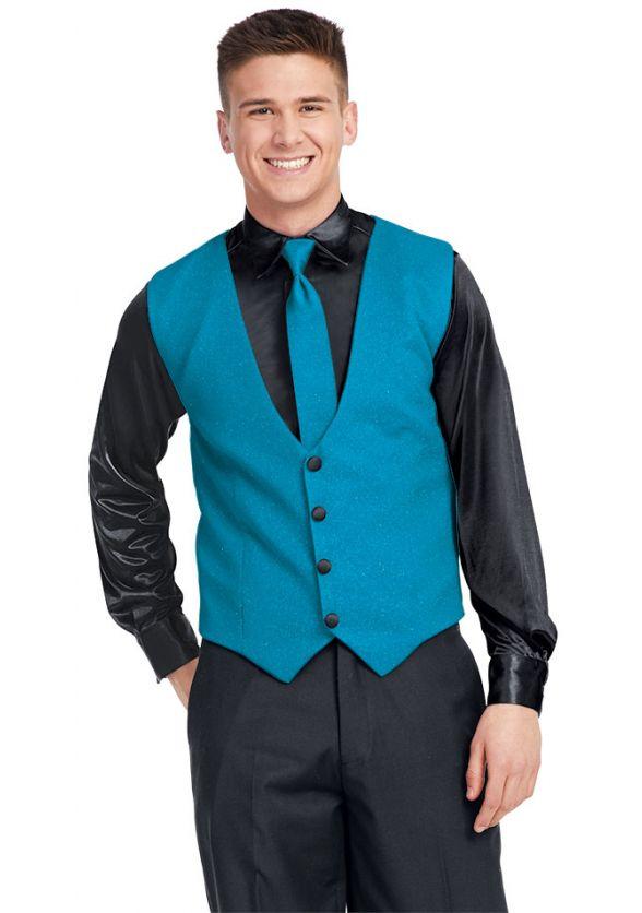 Shimmer Knit Vest
