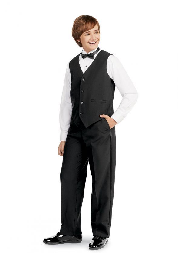 Vest Ensemble with Tuxedo Pants & Bow Tie