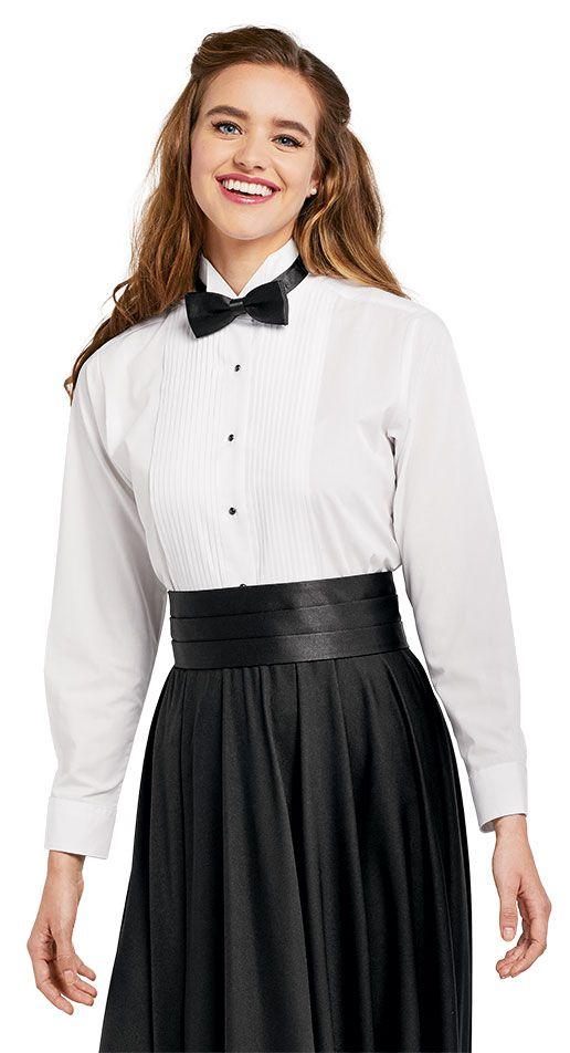 Size 18 Women/'s Tuxedo Shirt