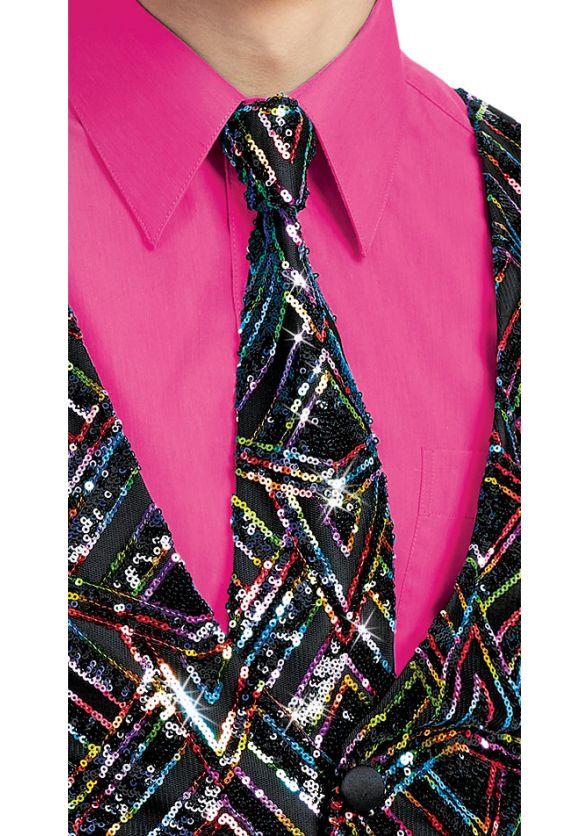 Empire Sequin Long Tie