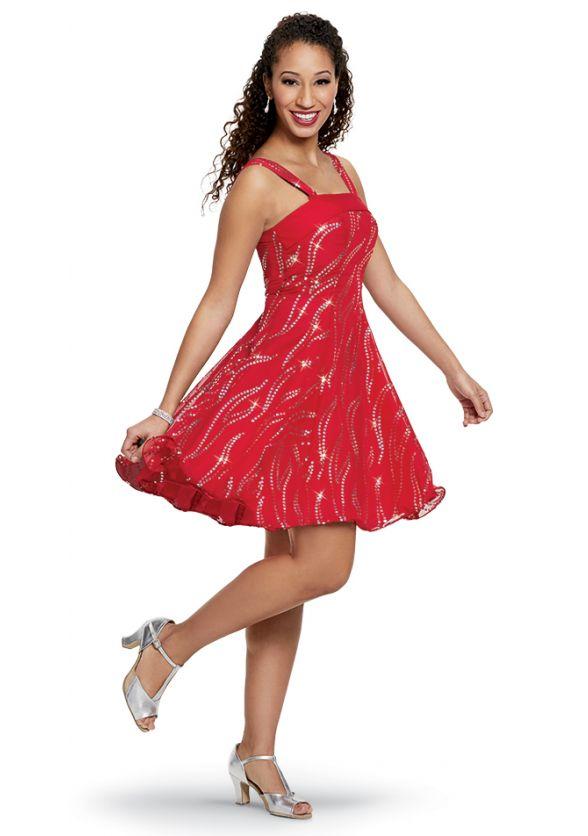 Flame Tarantella Dress