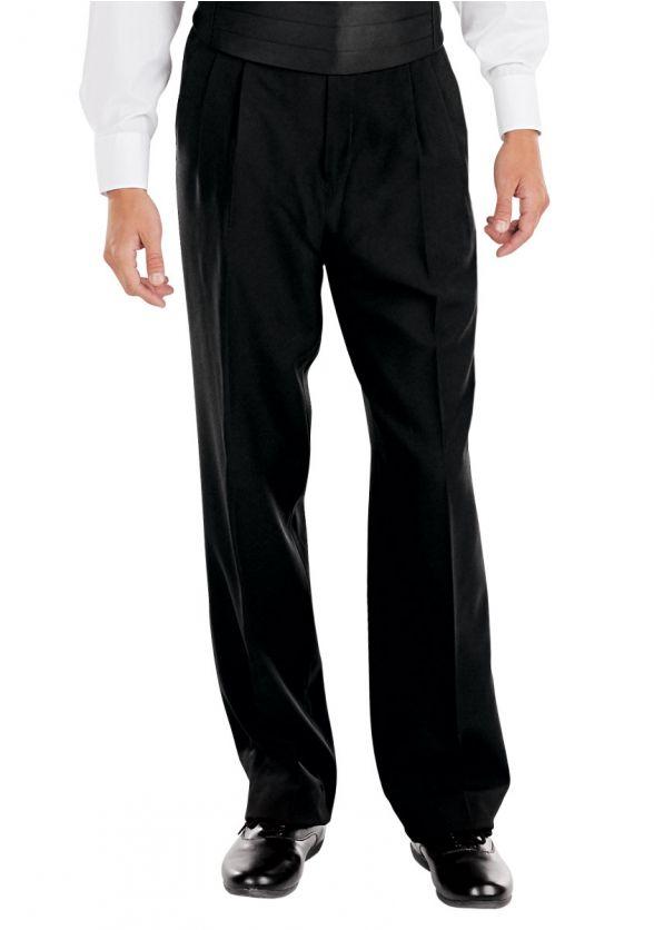 Adjustable Pleated Tuxedo Pant