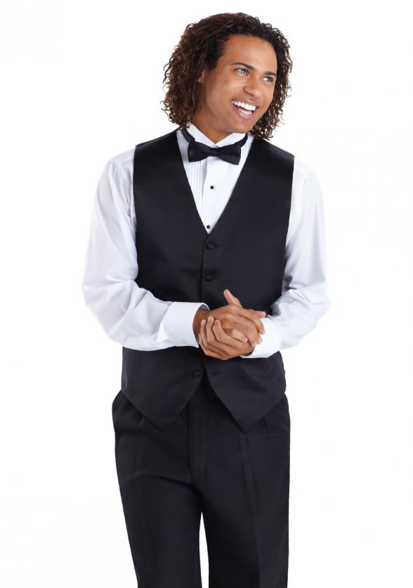 Vest Ensemble with Cavalier Pants & Bow Tie