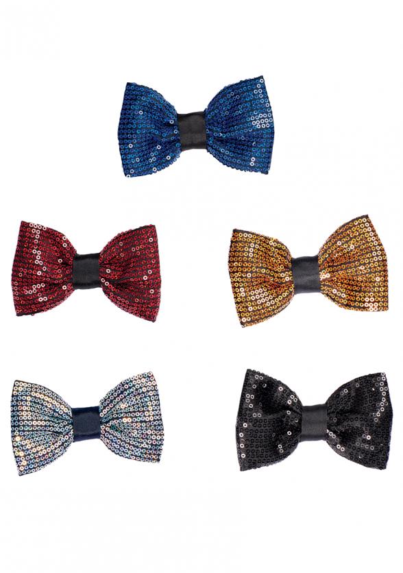 Sequin Bow Tie