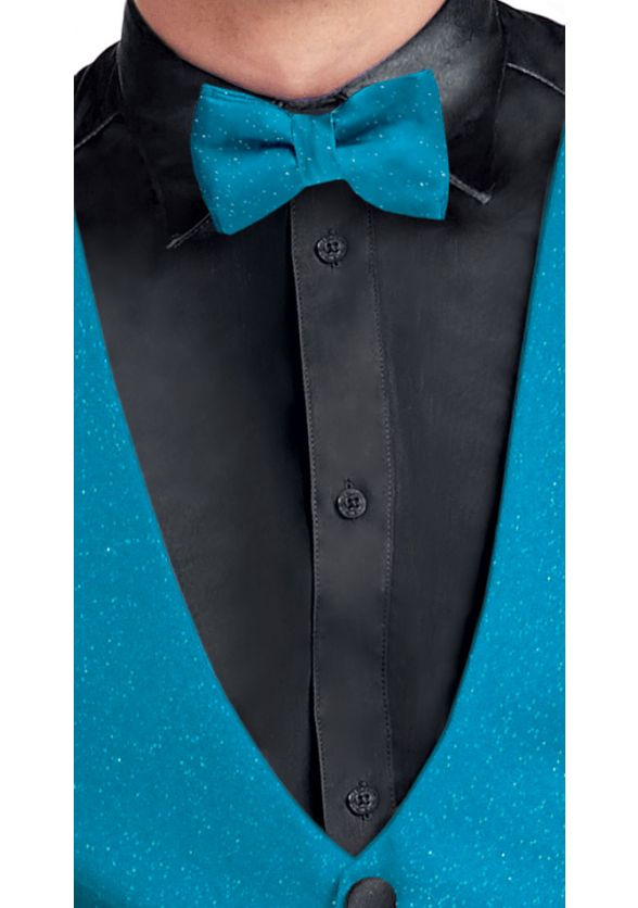Shimmer Knit Bow Tie