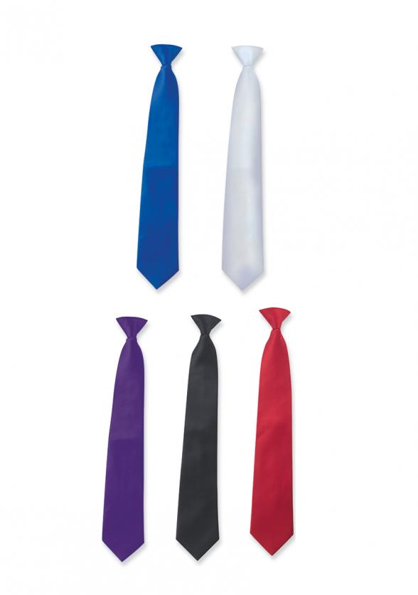 Satin Vanguard Long Neck Tie