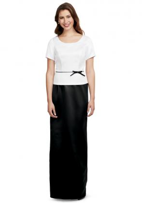 Satin Pull-On Skirt
