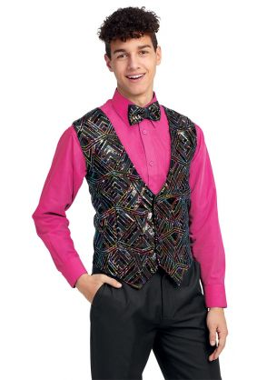 Youth Empire Sequin Vest