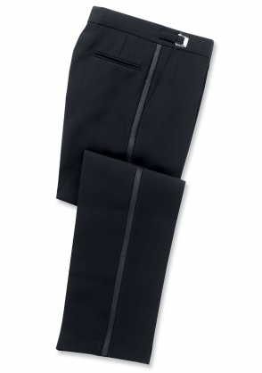 Youth to Adult Adjustable Flat Front Tuxedo Pants