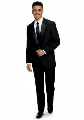 Full Tuxedo Ensemble with Long Tie