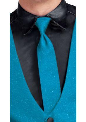 Shimmer Knit Long Tie