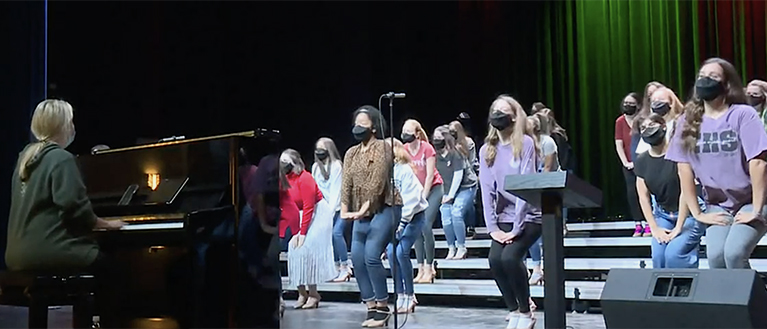 Voice masks in school performance